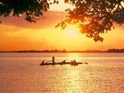 Le lac de l'Ouest à Hanoï