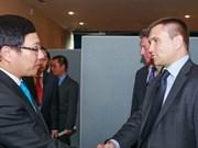 Le Vietnam souhaite promouvoir ses relations avec plusieurs pays