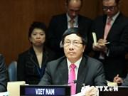 Le Vietnam soutient les efforts pour la paix et le développement dans le monde