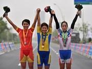 ASIAD 17 : le Vietnam remporte une nouvelle médaille en cyclisme