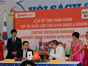 Publication: partenariat vietnamo-sud-coréen entre Alphabooks et Kyowon