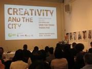Les espaces de création en ville au cœur d'un séminaire à Hanoi