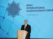 La VNA présente au Forum humanitaire international de Bakou