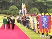 Nouvelle période de développement des relations avec la R. de Corée