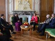 Une délégation parlementaire du Vietnam en visite en France
