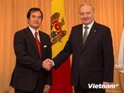 Le président moldave souhaite renforcer la coopération avec le Vietnam