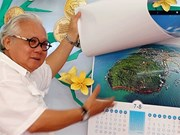 Les îles du Vietnam sur les calendriers de 2015