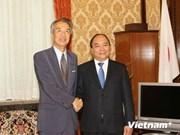 Le vice-PM Nguyen Xuan Phuc en visite de travail au Japon