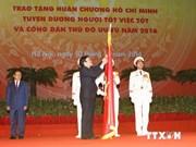 Meeting solennel en l'honneur du 60e anniversaire de la libération de Hanoi