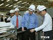 Le président Nguyen Thien Nhan loue les performances des entreprises