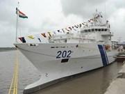 Un navire des Garde-côtes indiennes à Da Nang