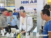 Expo internationale des matériaux de textile-habillement à Hanoi
