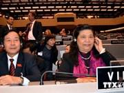 Le Vietnam appelle l'IPU à promouvoir l'égalité des sexes