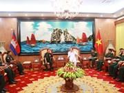 Défense: Vietnam et Cambodge renforcent leur coopération dans la formation
