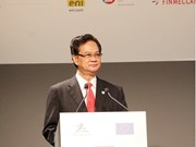 Nguyen Tan Dung assiste au 14e Forum d'affaires Asie-Europe