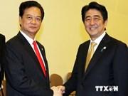 Rencontre entre les Premiers ministres vietnamien et japonais