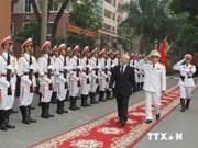 Le chef du Parti apprécie les succès de l'Académie de sécurité du Peuple