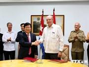 Vietnam et Cuba conviennent d'intensifier leurs liens commerciaux