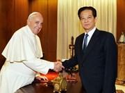 Entretien entre le Pape et le PM vietnamien au Vatican