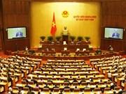 Ouverture de la 8e session de l'AN de la 13e législature