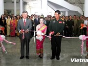 Meeting en l'honneur de la Journée traditionnelle des volontaires vietnamiens au Laos