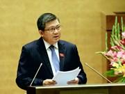 Assemblée nationale : la restructuration économique en débat