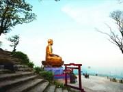 La montagne sacrée de Yên Tu