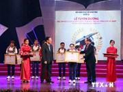 Les lauréats des olympiades internationales à l'honneur à Hanoi