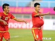 Football : victoire du Vietnam face à une sélection sud-coréenne