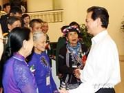 Le PM rencontre des représentants exemplaires du Nord-Ouest