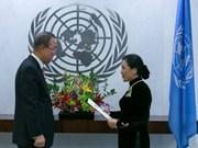 Ban Ki-moon estime les réalisations obtenues par le Vietnam