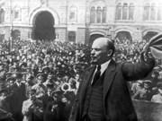 Commémoration de la Révolution d'Octobre à HCM-Ville