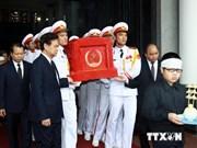 Funérailles solennelles de l'ex-vice-PM Nguyên Công Tan