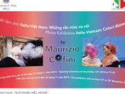 """Exposition photographique """"Vietnam-Italie : les couleurs lointaines"""""""