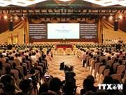 Ouverture du Sommet de l'ASEAN au Myanmar
