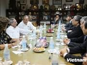 Une délégation du PCV en visite officielle à Cuba