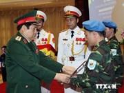 L'Armée contribue à rehausser la position du pays dans le monde