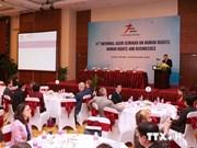 Clôture du séminaire informel du Forum Asie-Europe sur les droits de l'homme