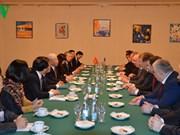 Le leader du PCV rencontre le président du KPRF