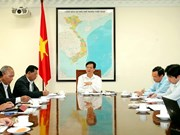 Le Premier ministre travaille avec les autorités de Dak Lak