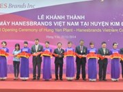 La 3e usine de Hanesbrands voit le jour au Vietnam