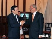 Le président reçoit l'ambassadeur du Bangladesh