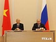 Le leader du PCV achève sa visite en Russie et en Biélorussie