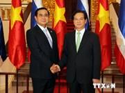 Vietnam et Thaïlande promeuvent leur partenariat stratégique