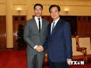 Le Directeur général du FEM Philipp Rosler en visite au Vietnam