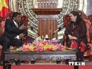 La vice-présidente de l'AN reçoit le secrétaire général de l'UIP