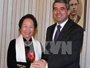 Entrevue entre la vice-présidente vietnamienne et le président bulgare