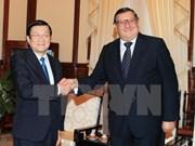 Le président Truong Tan Sang reçoit l'ambassadeur chilien
