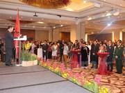 Célébration des 70 ans de l'armée vietnamienne à l'étranger