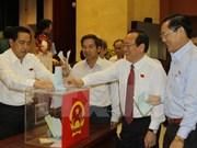 Vote de confiance pour 18 hauts dirigeants de Ho Chi Minh-Ville